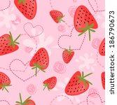 Strawberry Yogurt Seamless...