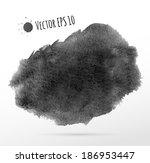 watercolor hand painted... | Shutterstock .eps vector #186953447