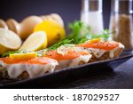 Smoked Salmon With Capers...