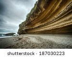 Dramatic Coastal Cliff On The...
