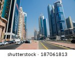 dubai  uae    6 march  2014 ... | Shutterstock . vector #187061813