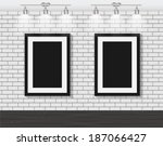 Frame On Brick Wall For Your...