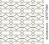 seamless pattern  stylish... | Shutterstock .eps vector #187077083