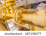 production line in oil and gas... | Shutterstock . vector #187198277