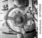 valve in oil and gas industry | Shutterstock . vector #187198283