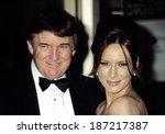 Small photo of Donald Trump and Melania Knauss at the Film Society of Lincoln Center Honors for Susan Sarandon, NY 5/5/2003