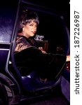 Small photo of Oprah Winfrey arriving at Alvin Ailey Dance Theater gala at City Center, 12/4/96