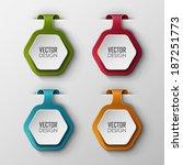 vector banners set  | Shutterstock .eps vector #187251773