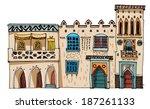 Middle East Vintage Facades  ...