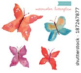 Loose Watercolor Butterfly...