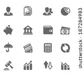Business & Finance Icon Set | Shutterstock vector #187284983