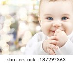 child  happiness and people... | Shutterstock . vector #187292363