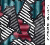 technology seamless pattern...   Shutterstock . vector #187293743