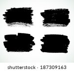 grunge design set | Shutterstock . vector #187309163