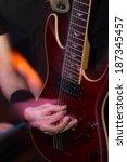 guitarist in action | Shutterstock . vector #187345457