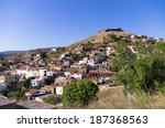 the historic village of... | Shutterstock . vector #187368563