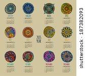 Ethnic Calendar 2015 Year...