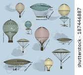 vintage  seamless pattern of... | Shutterstock .eps vector #187446887