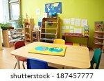 montessori kindergarten...   Shutterstock . vector #187457777