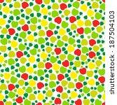 seamless floral pattern | Shutterstock .eps vector #187504103