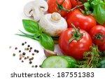 vegetables | Shutterstock . vector #187551383