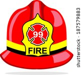 background,badge,burn,concept,department,emergency,equipment,fire,fireman,hat,heat,helmet,illustration,isolated,number