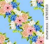 abstract elegance seamless... | Shutterstock .eps vector #187853513
