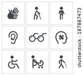 accesibilidad,ciego,ceguera,sangre,contorno,sordos,sordera,discapacidad,desactivado,adn,médico,oreja,ancianos,mano,ayuda