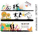grunge banners | Shutterstock .eps vector #18792397
