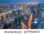 Dubai Marina And Jumeirah Lake...