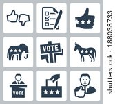 vector voting and politics... | Shutterstock .eps vector #188038733