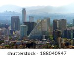a view of downtown mexico city  ... | Shutterstock . vector #188040947
