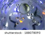 bubbles floating on water. ... | Shutterstock . vector #188078093