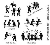 childhood children games kids... | Shutterstock .eps vector #188102213