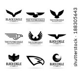 eagles  12  | Shutterstock .eps vector #188305643