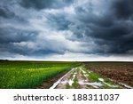 Dramatic Landscape With Heavy...