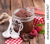 chocolate mousse | Shutterstock . vector #188311967