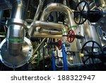 industrial steel pipelines and... | Shutterstock . vector #188322947
