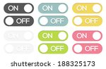 set of 6 isolated colorful on   ...
