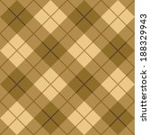 seamless diagonal plaid pattern ... | Shutterstock . vector #188329943