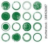grunge stamp mockups set of... | Shutterstock .eps vector #188426087