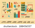 transportation infographic... | Shutterstock .eps vector #188456537