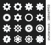 gear icons  | Shutterstock .eps vector #188469953