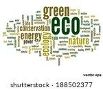 vector concept or conceptual... | Shutterstock .eps vector #188502377
