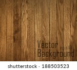 vector wood plank background | Shutterstock .eps vector #188503523