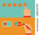 vector customer review concepts ... | Shutterstock .eps vector #188524787