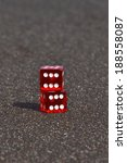 dices on the beach | Shutterstock . vector #188558087