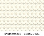 retro blossom and circle and... | Shutterstock .eps vector #188572433