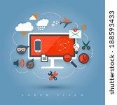 business illustration. | Shutterstock .eps vector #188593433