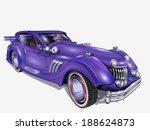 retro car. | Shutterstock .eps vector #188624873
